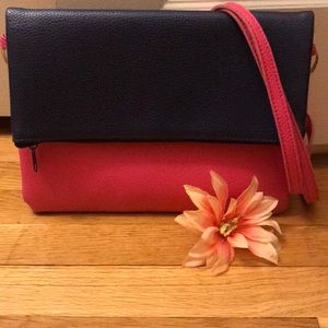 NWOT Two Toned Crossbody Bag